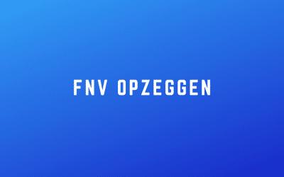 FNV opzeggen